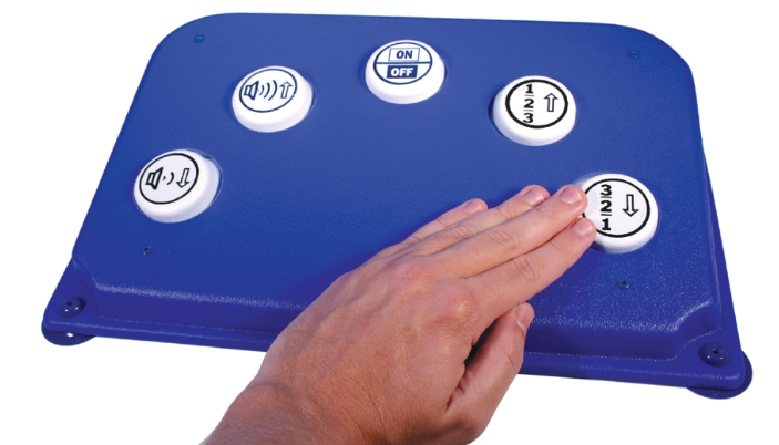 tv remote for disabled people