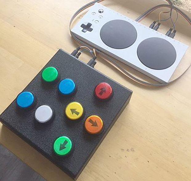 Xbox and PlayStation adaptive gaming controller