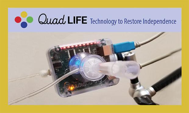 QuadLife adaptive gaming controller