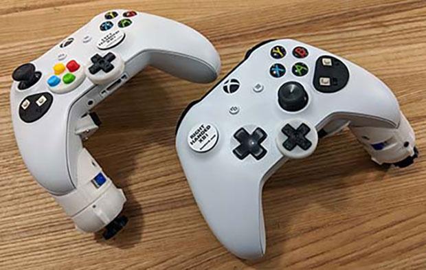 Single Handed Xbox adaptive controller